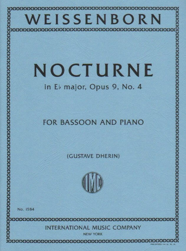 Nocturne in E-flat Major, Op. 9, No. 4 - Bassoon and Piano