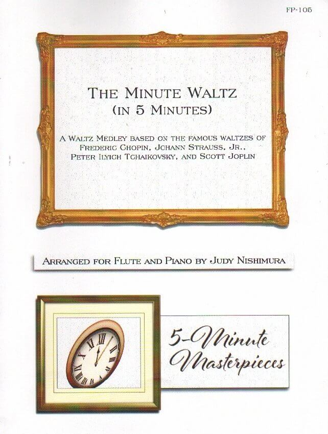 Minute Waltz, The (in 5 Minutes) - Flute and Piano