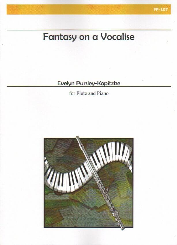 Fantasy on a Vocalise - Flute and Piano