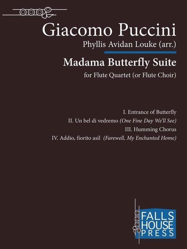 Madama Butterfly Suite - Flute Quartet (or Choir)