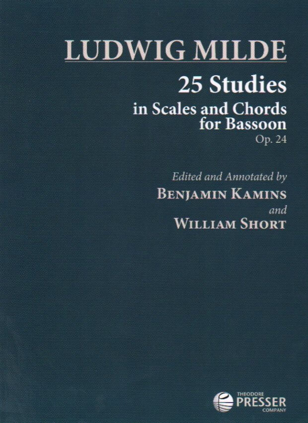 25 Studies in Scales and Chords, Op. 24 - Bassoon