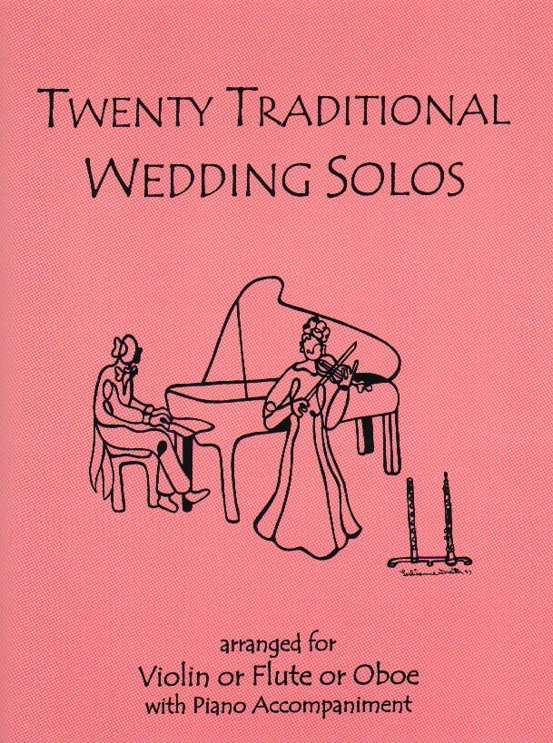Groth Music Company 20 Traditional Wedding Solos Violin Or