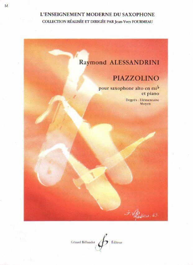 Piazzolino - Alto Sax and Piano