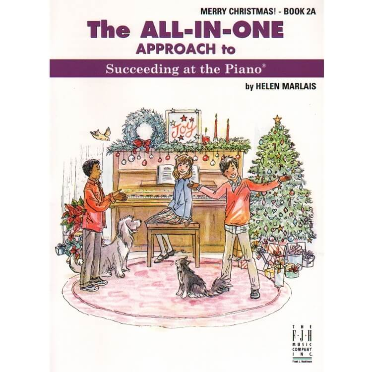 All-In-One Approach: Merry Christmas, Book 2A