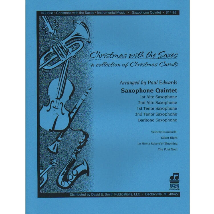 Christmas with the Saxes - Sax Quintet AATTB