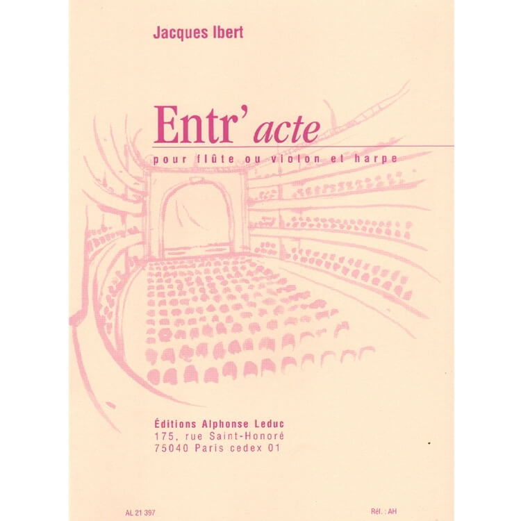 Entr'Acte - Flute (or Violin) and Harp