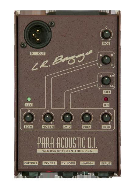 L.R. Baggs Para Acoustic DI Studio Quality Direct Box