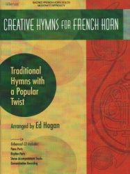 Creative Hymns for French Horn (Bk/CD) - Horn and Piano
