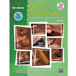All About Hand Percussion - Book/CD