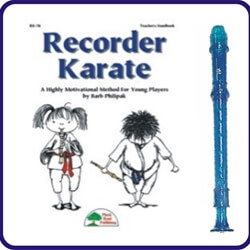 Blue Candy Apple Recorder & Recorder Karate Book