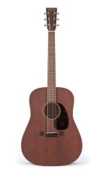 Martin D-15M Solid Mahogany Dreadnought Acoustic Guitar w/Case