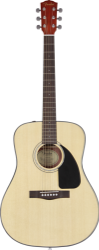 Fender CD-60, Natural w/Hardshell Case