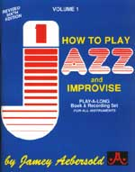Jamey Aebersold Vol. 1: How to Play Jazz and Improvise (Bk/2 CDs)