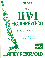 Jamey Aebersold Vol. 3: The ii-V7-I Progression - Book with 2 CDs
