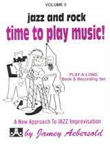 Jamey Aebersold Vol. 5: Time to Play Music (Bk/CD)