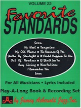 Jamey Aebersold Vol. 22: 13 Favorite Standards (Bk/CD)