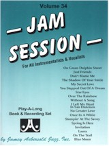 Jamey Aebersold Vol. 34 Book & CD - Jam Session