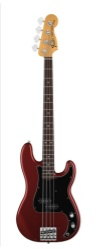 Fender Nate Mendel P Bass, Rosewood, Candy Apple Red w/Gigbag