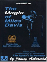 Jamey Aebersold Vol. 50 Book & CD - The Magic of Miles