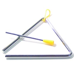 8 in Triangle with Striker & Holder