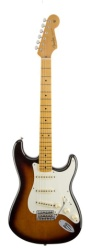 Fender Eric Johnson Strat, Maple Fretboard, 2-Color Sunburst, w/ Case