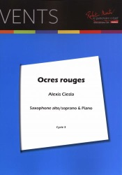 Ocres Rouges - Alto (or Soprano) Sax and Piano
