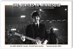 Beatles in Minnesota: Photographs by Bob Bonis - Text