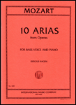 10 Arias - Bass Voice and Piano
