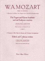 Cadenzas by Mordechai Rechtman: Mozart Concerto in B-flat Major, K  191 -  Bassoon