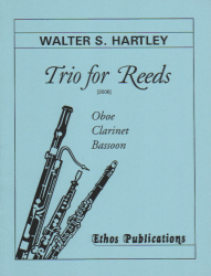 Trio for Reeds - Oboe, Clarinet, and Bassoon
