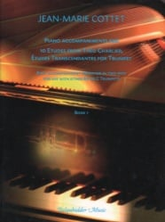 10 Etudes from Theo Charlier, Book 1: Trumpet - Piano Accompaniment