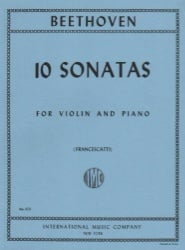 10 Sonatas - Violin and Piano