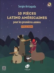 10 Latin American Pieces (Book/CD) - Flute and Piano