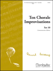 10 Chorale Improvisations Set 10 - Organ