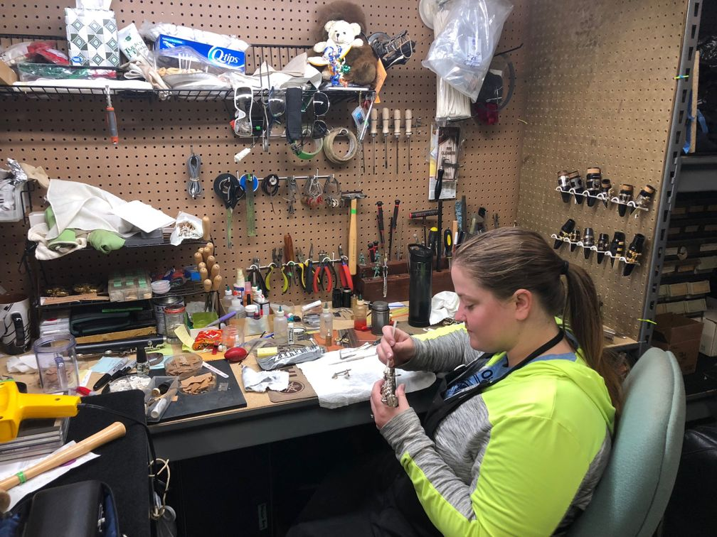 Shelby Brunner Woodwind Repair Technician
