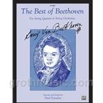 Best of Beethoven for String Quartet or String Orchestra - Score