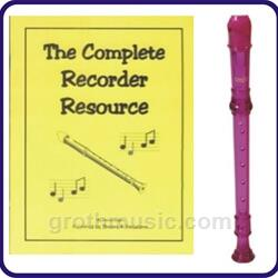 Purple Cantos Recorder & Complete Recorder Resource Book