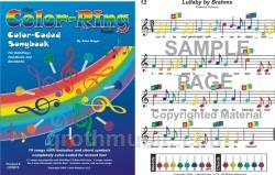 Color-Ring Book Color-Coded Songbook for Handbells