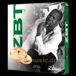 "Zildjian ZBTS3P-9 ZBT 3 Promo Pack with Free 14"" ZBT Crash"